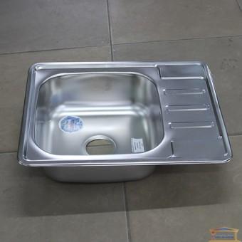 Изображение Мойка для кухни Крафт K 6350E (0,6/180мм) матовая