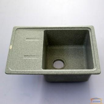 Изображение Мойка гранитная TAKUS 435*620 мм Idis Fashion gray 310 купить в procom.ua