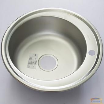 Изображение Мойка для кухни Крафт 510E (0,8мм) матовая