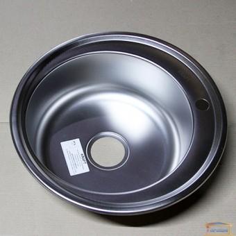 Изображение Мойка для кухни Крафт 510D (0,8мм) декор