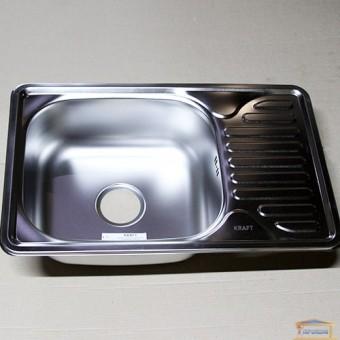 Изображение Мойка для кухни Крафт 6642E (08/180) матовая купить в procom.ua