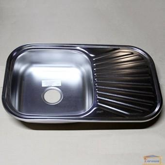 Изображение Мойка для кухни Крафт 7848E (06/160) матовая купить в procom.ua