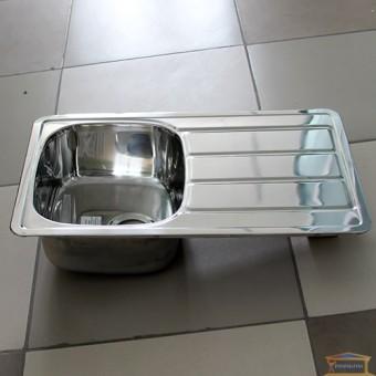 Изображение Мойка для кухни Крафт 402 (780*480) (0,8мм) врезная