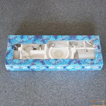 Изображение Набор для ванной №2000 WТ (6 элем) хром стекло купить в procom.ua