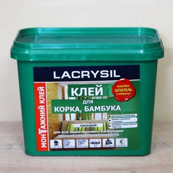 Изображение Клей для бамбука и пробки 1кг LS