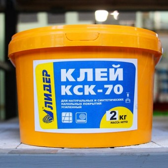 Изображение Клей для пенополистирола Лидер КСК - 70 2 кг