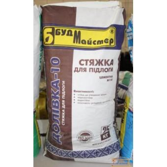 Изображение Стяжка для пола цементная Доливка-10 М-150 25 кг