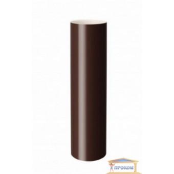 Изображение Труба водосточная d100 коричневая 3м