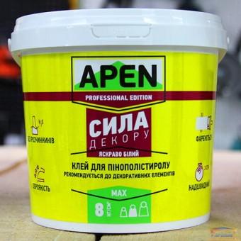 Изображение Клей для пенополистерола Apen Сила декору белый 3кг