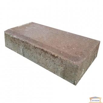 Изображение Тротуарная плитка Брусчатка 0,1*0,2 коричневая