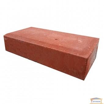 Изображение Тротуарная плитка Брусчатка 0,1*0,2 красная купить в procom.ua