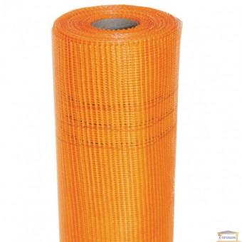 Изображение Сетка штукатурная М-160 (1 рулон=45 кв.м, ячейка 5*5 мм) стекловолокно оранж