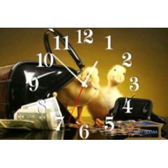 Изображение Часы на кухню Г 073 45*30 купить в procom.ua