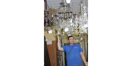 Где купить недорогую люстру в Краматорске?