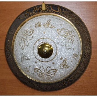 Изображение Светильник таблетка 917/2W BB коричневый