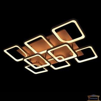 Изображение Люстра светодиодная 5543/6+2 BK купить в procom.ua