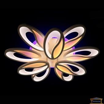 Изображение Люстра светодиодная 5565/6+3 GR Led dim 3 купить в procom.ua