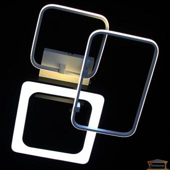 Изображение Люстра светодиодная 5804/2+1 WH+BK
