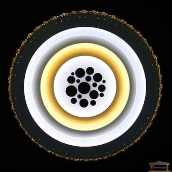 Изображение Люстра светодиодная 8548/500 WH+BK