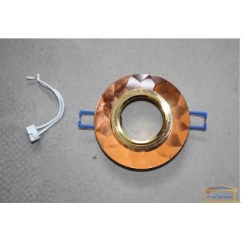 Изображение Светильник точечный 8050-2 коричневое золото  купить в procom.ua