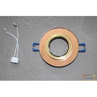 Изображение Светильник точечный 8060-2 коричневый золото  купить в procom.ua