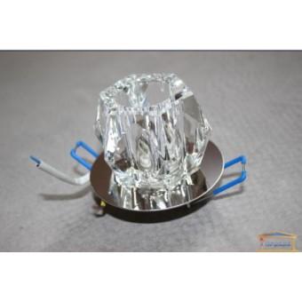 Изображение Светильник точечный JD40 прозрачный-хром  купить в procom.ua
