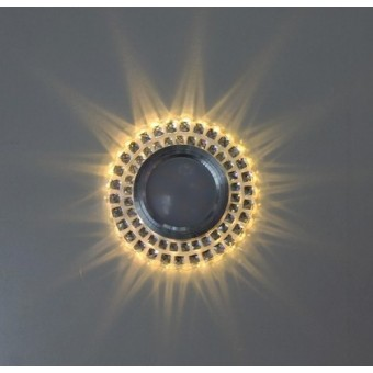 Изображение Точечный светильник с LED подсветкой 7615 ИП-WT купить в procom.ua