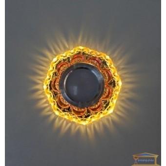 Изображение Точечный светильник с LED подсветкой 7625 ИП-BR купить в procom.ua