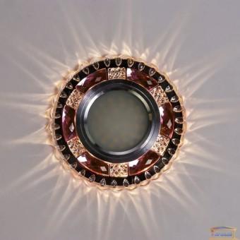 Изображение Точечный светильник с LED подсветкой 7673 ИП-WT PK купить в procom.ua