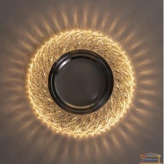 Изображение Точечный светильник с LED подсветкой 7735 ИП-WT купить в procom.ua