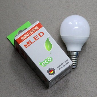 Изображение Лампа OSH G45 4W E14 160ш 4000К купить в procom.ua