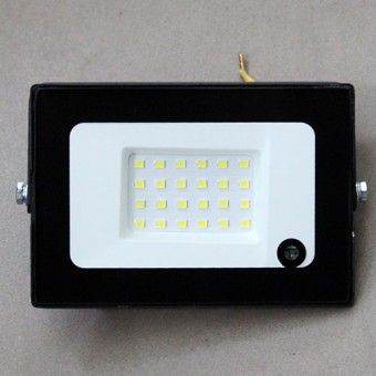 Изображение Прожектор LED-SLT 20W 6500K  SOKOL с датчик движ 113667