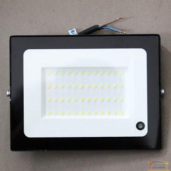 Изображение Прожектор LED-SLT 50W 6500K  SOKOL с датчик движ 113669