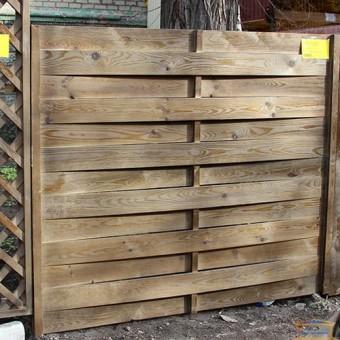 Изображение Секция заборная деревянная №1  2*1,7 (3,4м.кв.) купить в procom.ua