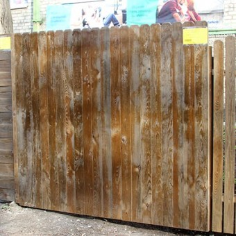 Изображение Секция заборная деревянная №2  2*1,7 (3,4м.кв.) купить в procom.ua