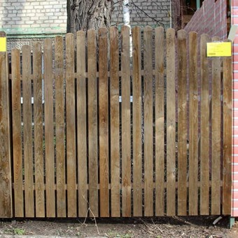 Изображение Секция заборная деревянная №3  2*1,7 (3,4м.кв.) купить в procom.ua
