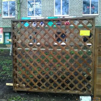 Изображение Секция заборная деревянная №4  2*1,7 (3,4м.кв.) купить в procom.ua
