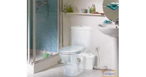 Купить насосную установку и решить проблему с туалетом в подвальном помещении
